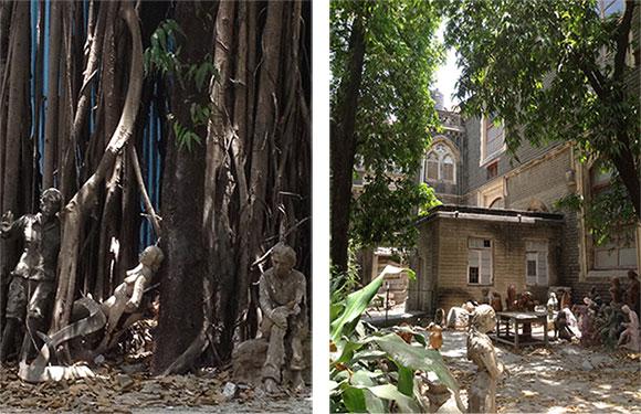 Ecole d'Art de Pronoy a Bombay