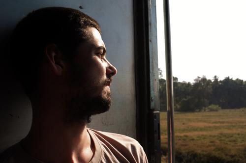 Frere dans le train