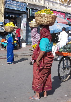 Vendeuses de fruits, Mysore