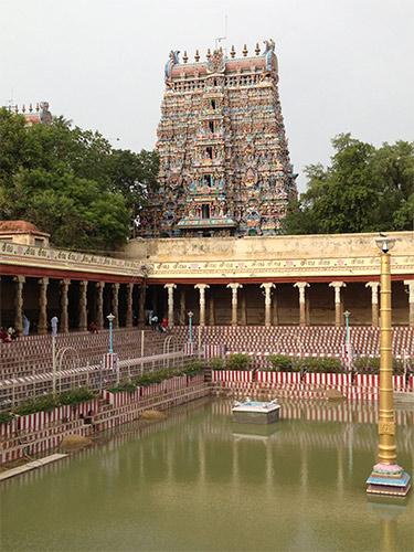 le temple de madurai