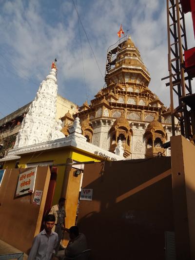 Temple au coeur de Pune