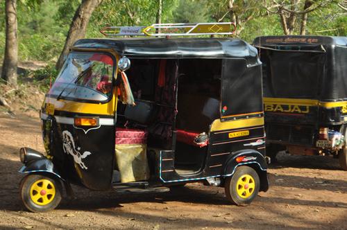 Le rickshaw!